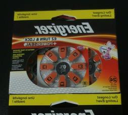 Energizer EZ Turn & Lock Hearing Aid Battery - 24 / Pack