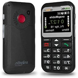Snapfon ezTWO 3G Cell Phone with 1 Year of snapMobile Servic