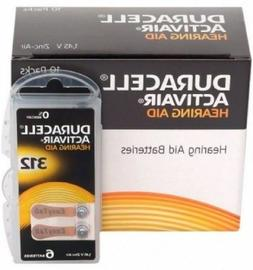 New 6 x  Duracell Activair Hearing Aid Batteries Size 312 Ex