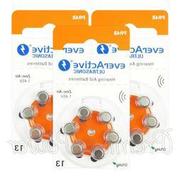 everActive Hearing aid 13 Size batteries Zinc Air PR48 1.45V