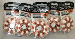 Rayovac Hearing Aid Batteries size 13  New Formula  Lasts Lo