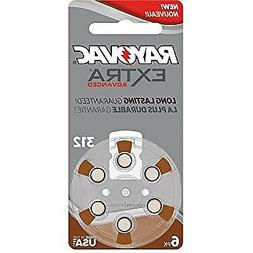 Rayovac Hearing Aid Batteries Size 312 - Pack of 30 + Free B