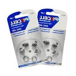 Size 13 hearing aid battery pr48 ZA13 A13  count