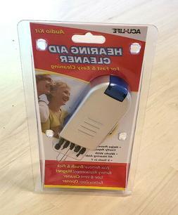 Acu Life Hearing Aid Cleaner Audio Kit 5 Tools in 1 Brand Ne