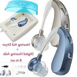 Hearing Aid Dryer +Rechargable Mini Digital Hearing Aid Ear