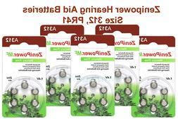 Zenipower Hearing Aids Aid Batteries Size 312  Fresh Expire