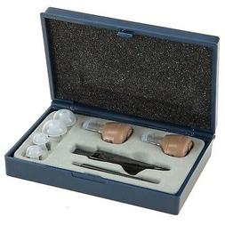 NewEar Hearing Amplifier Ear ITC Enhancer Personal Aid Pair