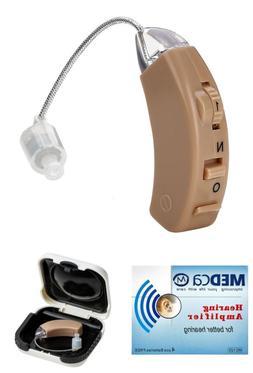 MEDca Hearing Amplifier, Personal Sound, Digital Feedback Ca