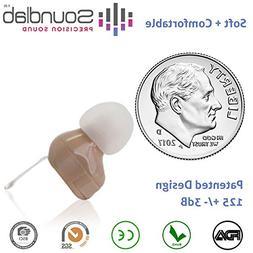 Soundlab Hearing Amplifier – Dime-Sized, in-the-Canal , Wi