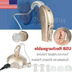 High-Power Digital Hearing Aid Severe Loss Rechargeable Invi