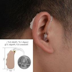 high quality sound hearing amplifier usb rechargeable