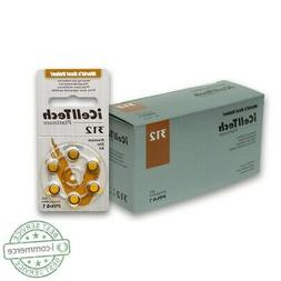 iCell Tech Size 312 Hearing Aid Batteries  3 year shelf life
