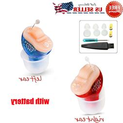 Invisible Hearing Aid Mini Digital CIC Small Voice Amplifier