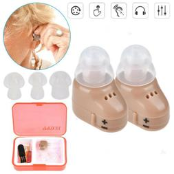 Invisible Wireless Mini Hearing Aid in Ear Sound Voice Ampli