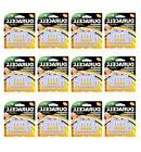 144-Pack Duracell Size 13 Hearing Aid Batteries Activair Eas