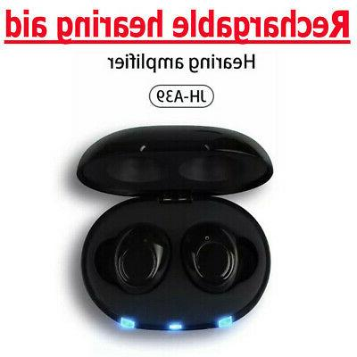 1Pair Invisible Rechargeable Ear Amplifier
