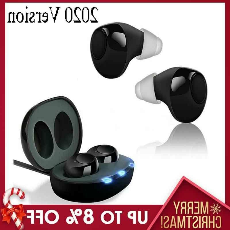 1pair invisible digital mini ear hearing aid