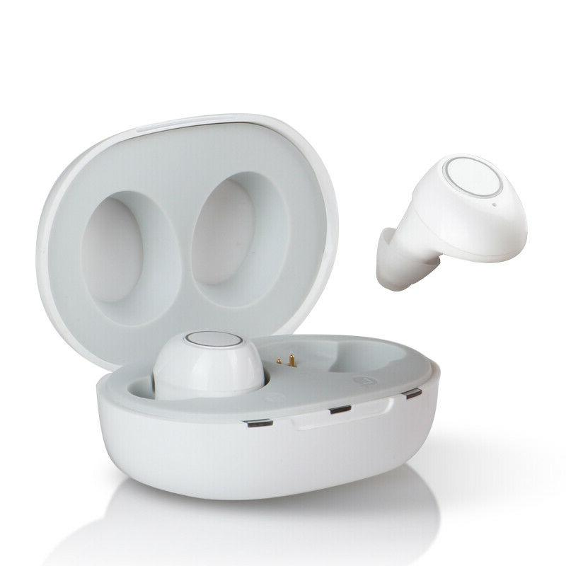 1pair rechargeable invisible hearing aids mini digital