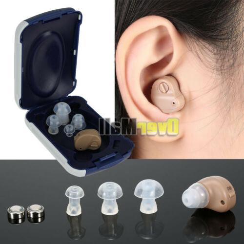 2/4 In Ear Invisible Adjustable Hearing K-80