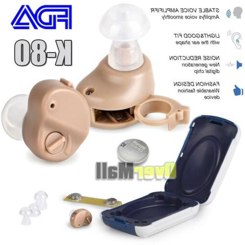 2/4 Small In Invisible Sound Adjustable Aid K-80