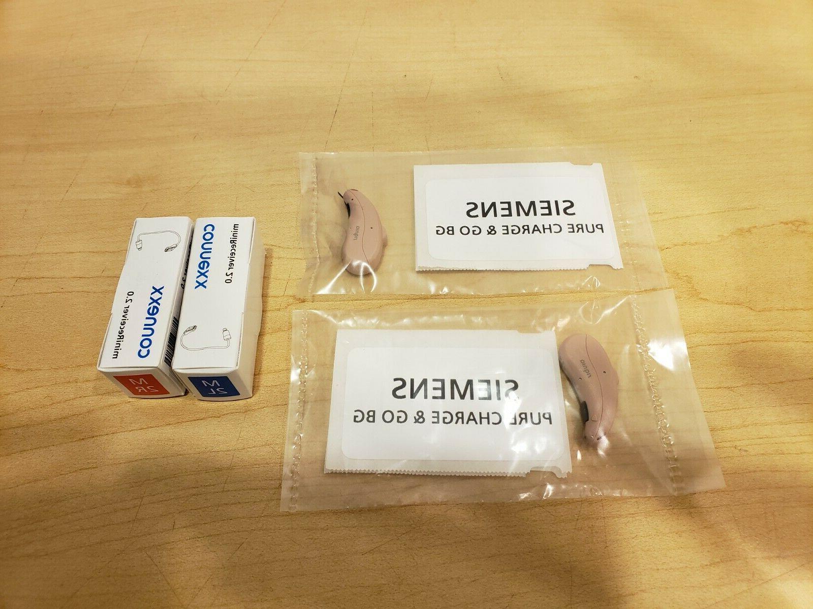 2 new signia pure 7nx ric hearing