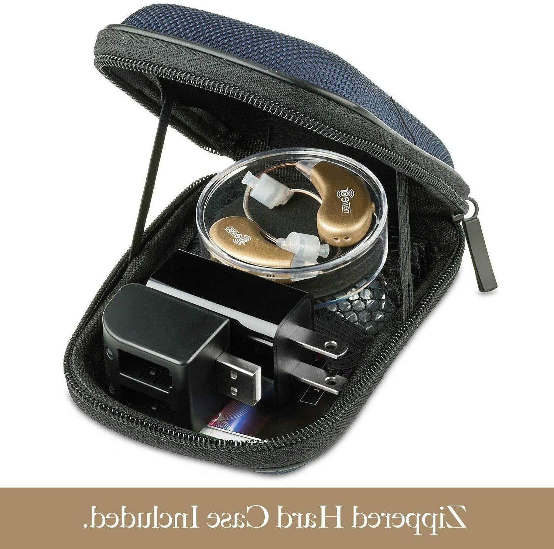 2 Digital Hearing USB Amplifier Behind The Ear BTE