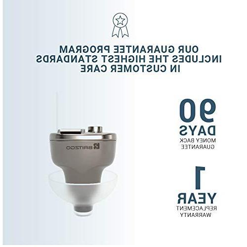 2 Lightweight & by Britzgo BHA-603D Silver/Grey - 1 Year