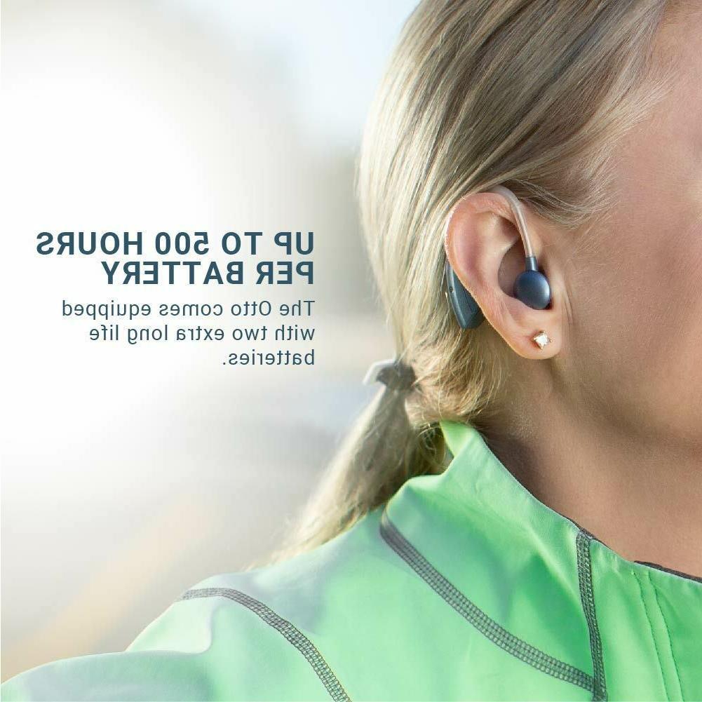 Hearing Aid Blue