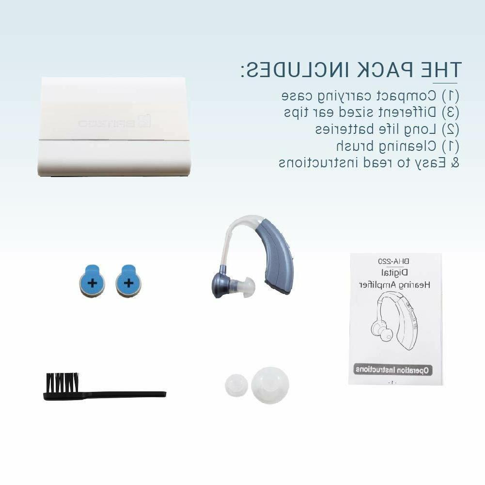 Hearing Amplifiers BHA-220 Blue BTE-