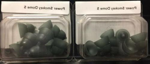 2 Packs of Power Smokey Domes Small for Phonak Hearing Aids.