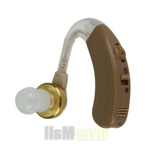 2 Pairs Digital Hearing Aid Kit Behind the Sound