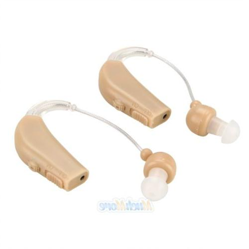 2 Rechargeable Acousticon Ear Sound Amplifier