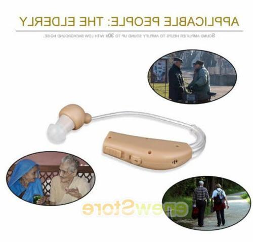 2 Behind Ear Hearing Aid/Aids Sound