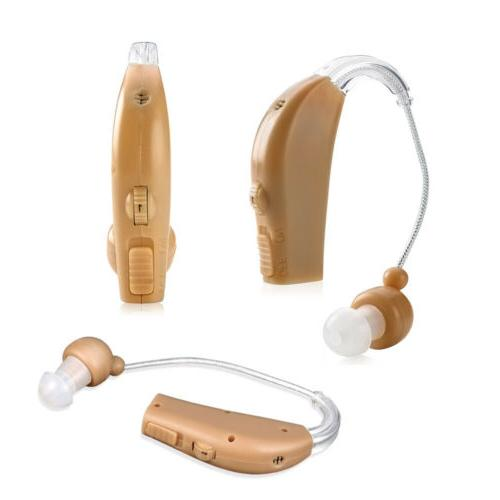 2 Ear Hearing Aids Audiphone Sound Amplifier