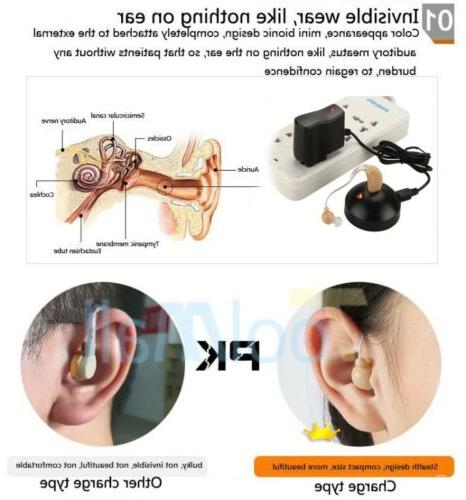 2 Digital Hearing Aid BTE Ear