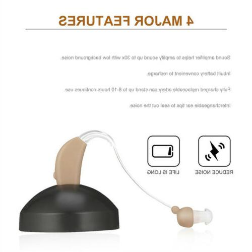 2 Rechargeable Aid BTE Ear