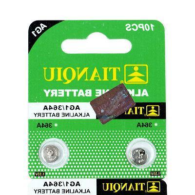 200 PCS 364 Alkaline Battery Hearing Aid