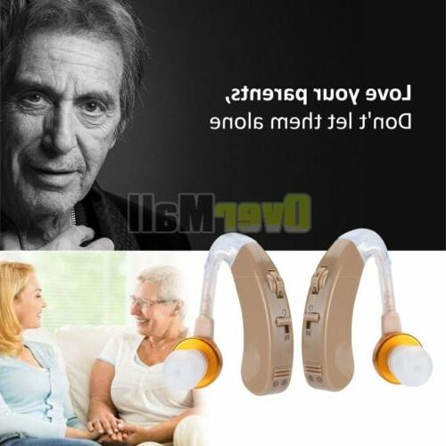 2pairs Hearing Amplifier Hearing Aids Aid for
