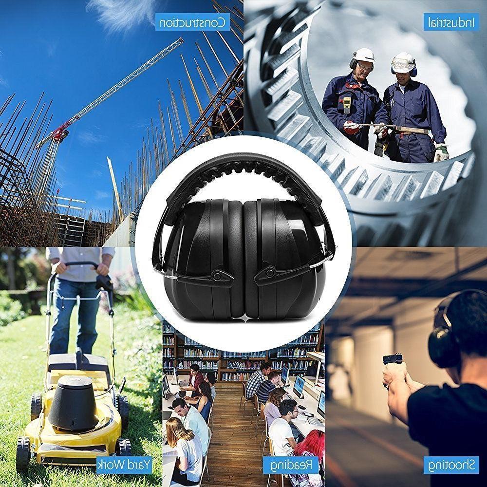 G dB Highest NRR Ear Muffs for Shooting Adjustable