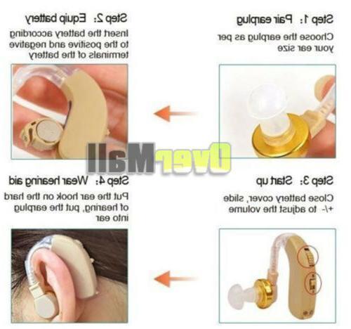 4 Hearing Behind Ear BTE Sound