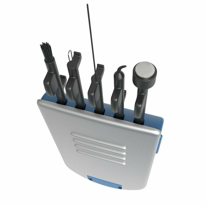Ezy Dose 5-In-1 Hearing Aid Cleaning Tools | Small Kit For H