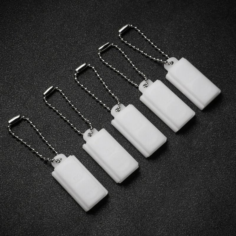 5pcs hearing aid battery case lightweight pp