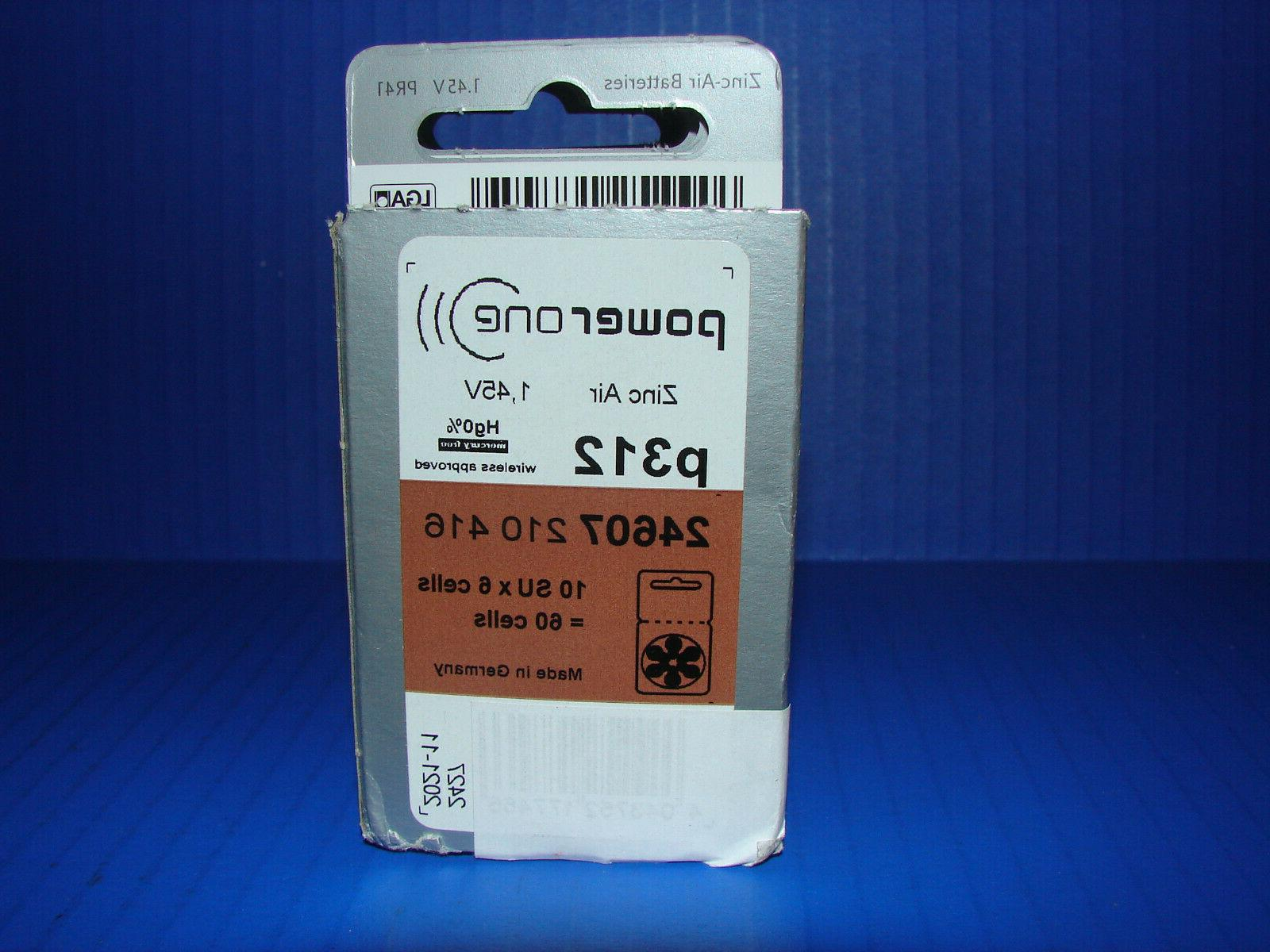 60 Hearing Battery Size P312 **NEW** READ!!