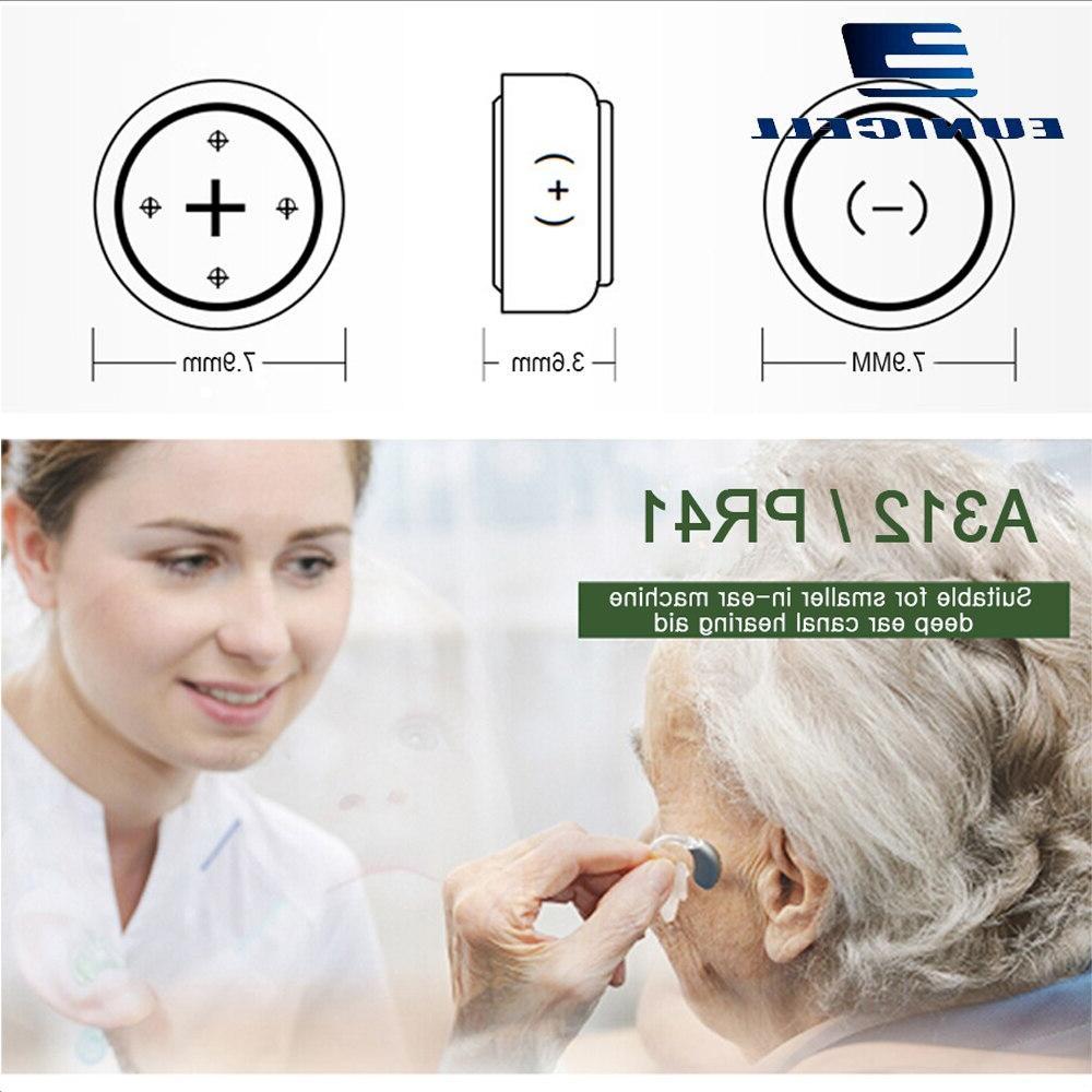 6PCS 1.45V Air <font><b>Hearing</b></font> <font><b>Aid</b></font> A312 312A <font><b>312</b></font> PR41 S312 <font><b>Aid</b></font> Ear Care <font><b>Hearing</b></font>