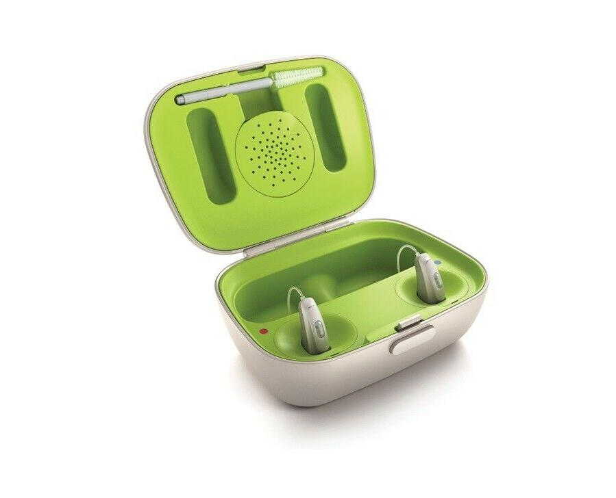 A New Phonak Rechargeable RIC w/