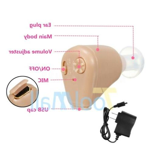 Mini In Ear Aid Tone Amplifier US