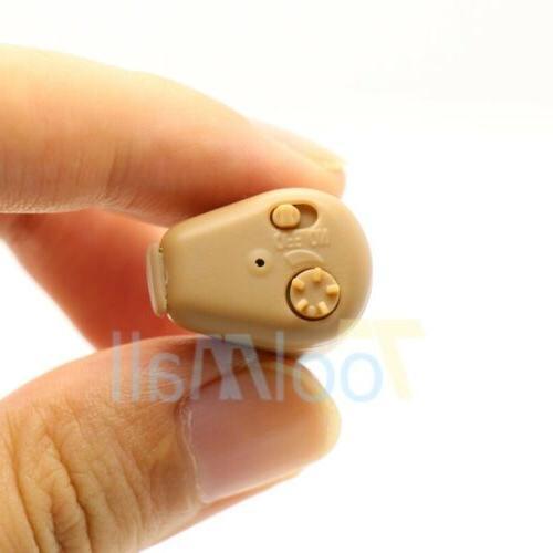 A Mini In Ear Aid Adjustable Tone US