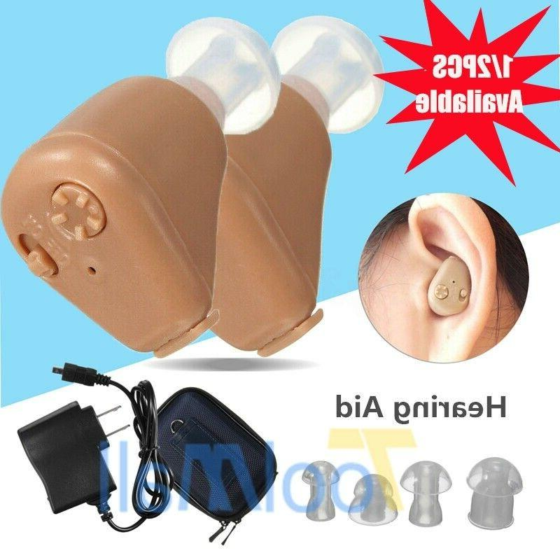 a pair rechargeable digital mini in ear