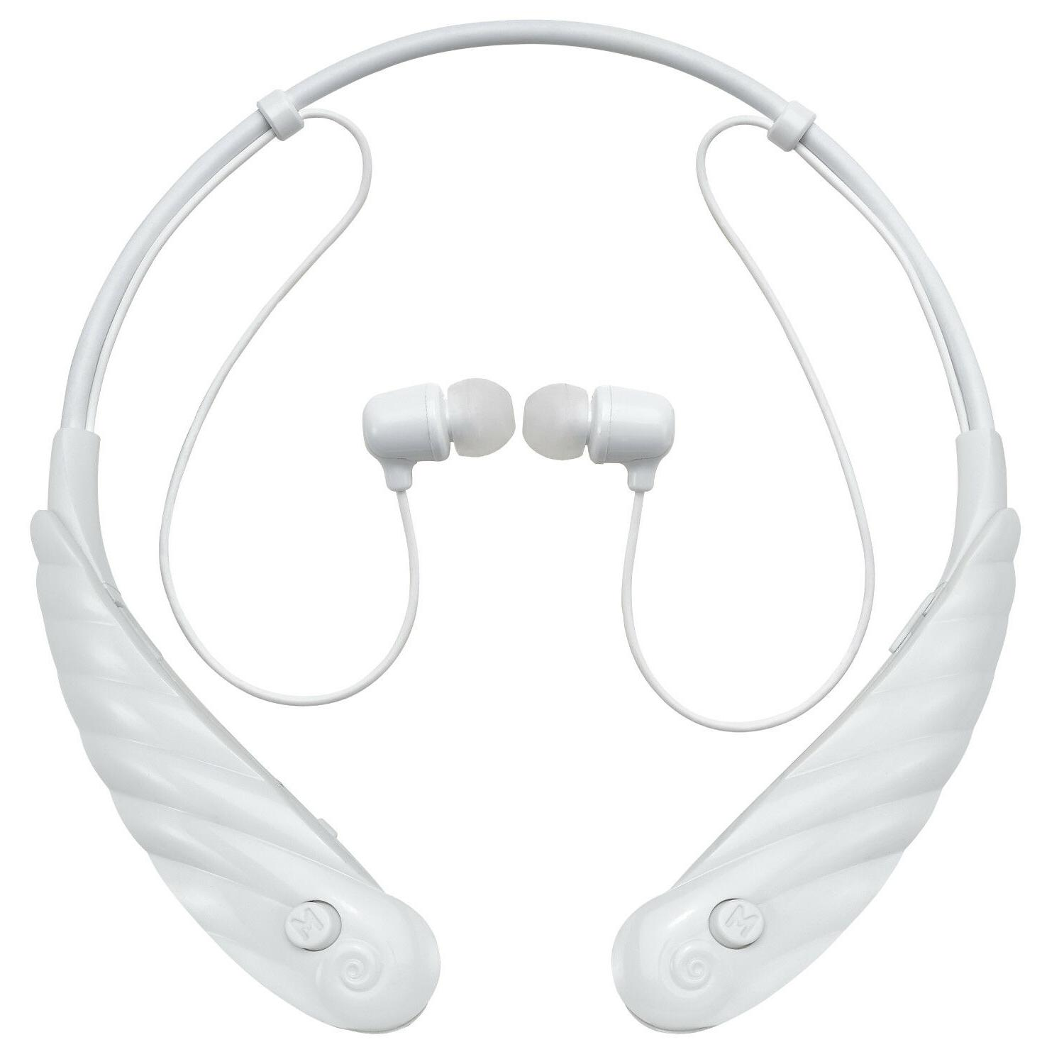 active white sport hearing amplifier aid