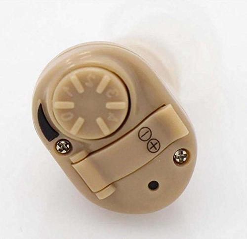 GONGFF Amplifier Mini Headphones Digital Aid Enhancer Care For Elderly
